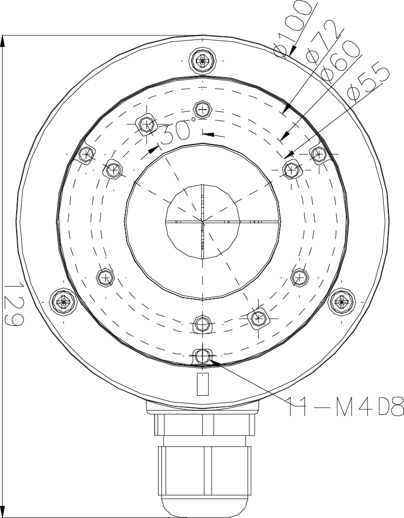 AC-43JB Dimensions