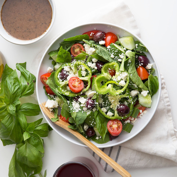 ARUGULA GREEK SALAD