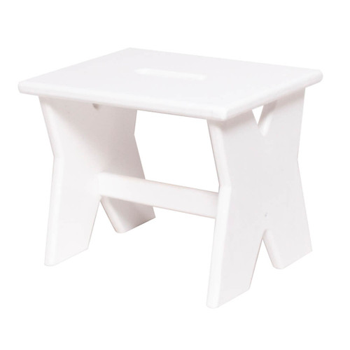 This wooden step stool brings country charm and is a versatile addition to the home or office to provide extra height to access those hard to reach places.