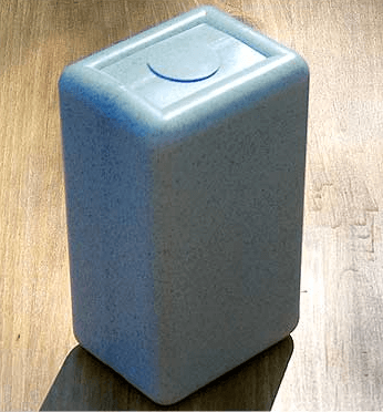 Plastic Ashes Cremation Box provided by Crematoriums