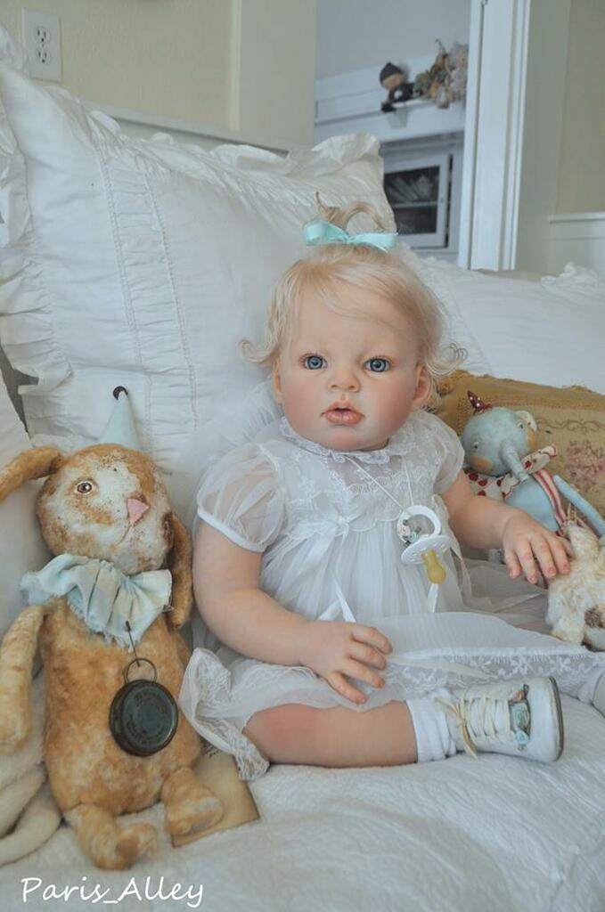 Arianna Awake Reborn Vinyl Toddler Doll Kit by Reva Schick