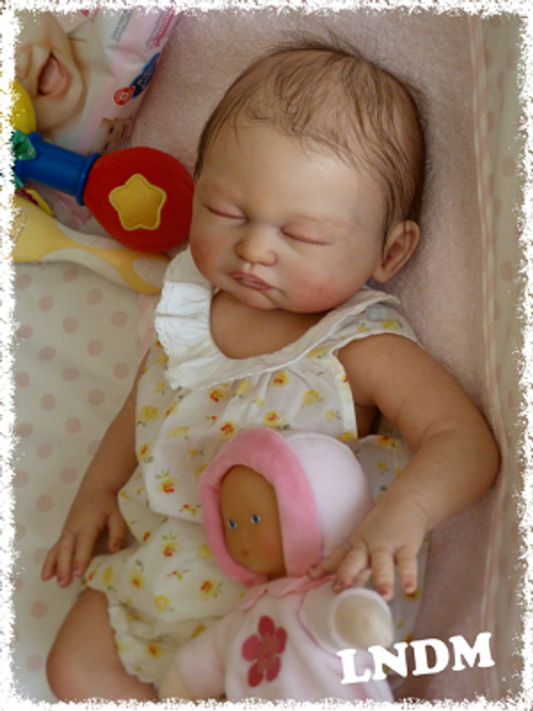 Carina Reborn Vinyl Doll Kit by Sheila Michael