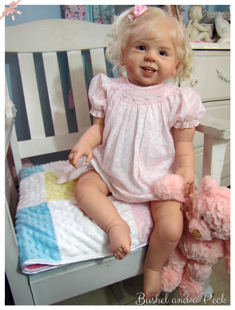 Jette Vinyl Doll Kit by Regina Swialkowski