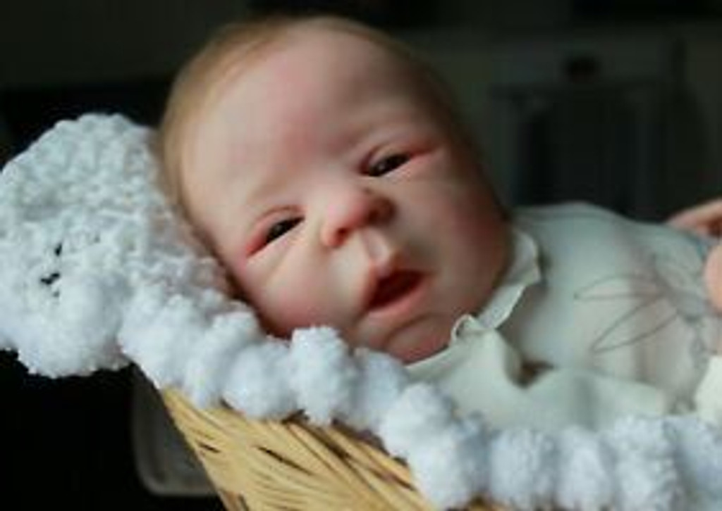 Eden Reborn Vinyl Doll Kit by Sheila Michael With Closed Hands
