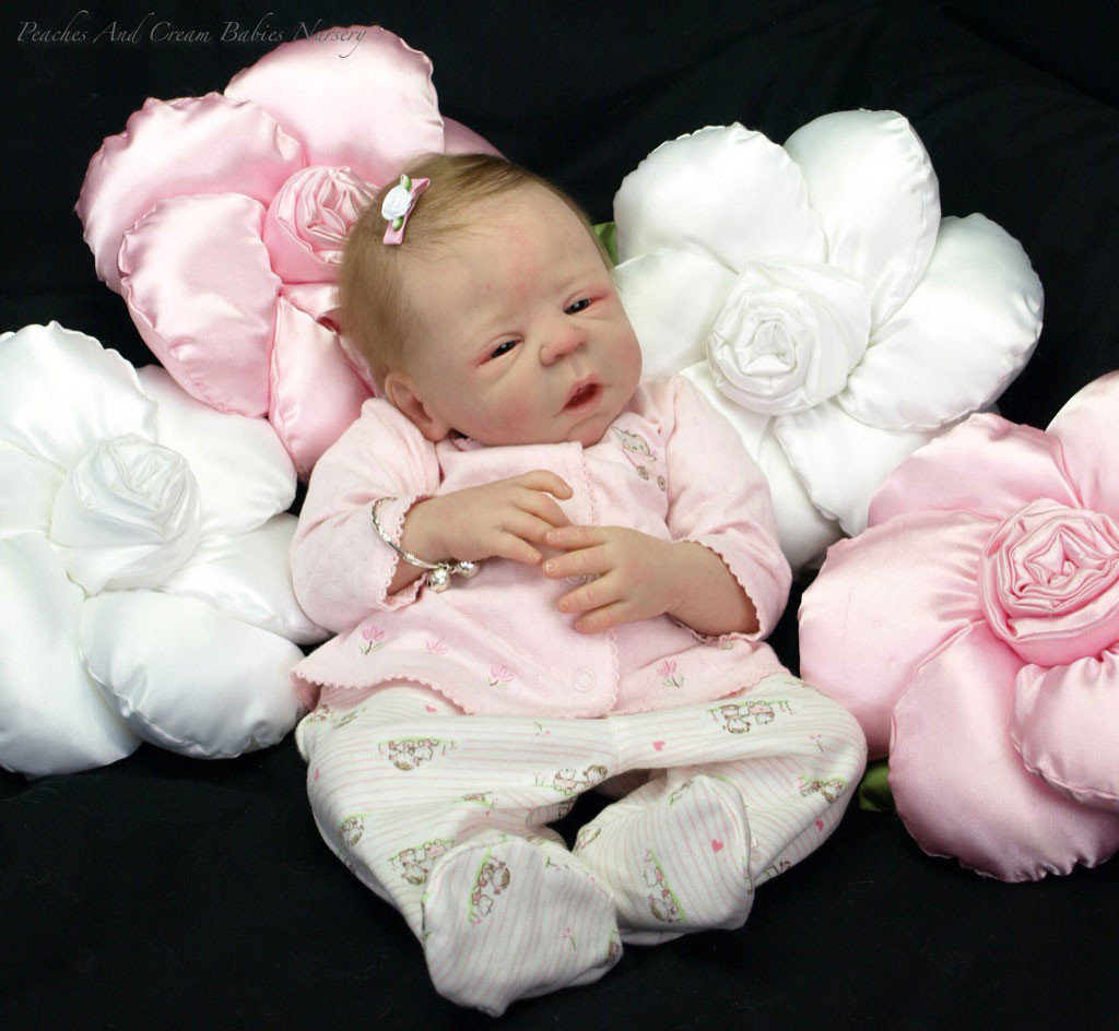 Eden Reborn Vinyl Doll Kit by Sheila Michael