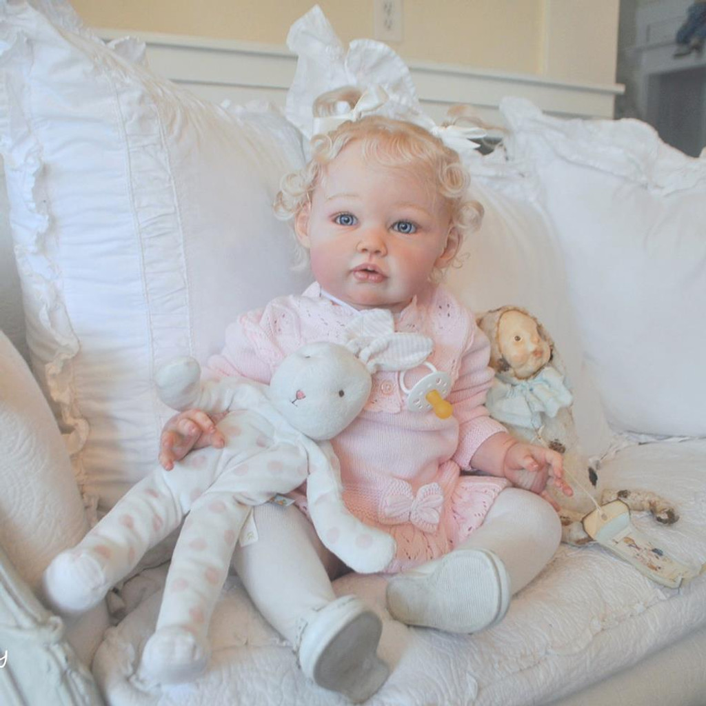 Ella Mae Reborn Vinyl Doll Kit by Jannie De Lange