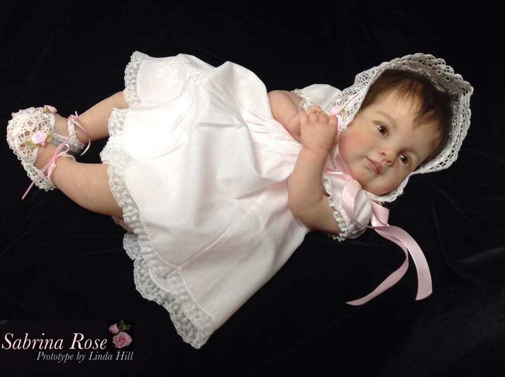 Sabrina Rose Reborn Vinyl Doll Kit by Ping Lau