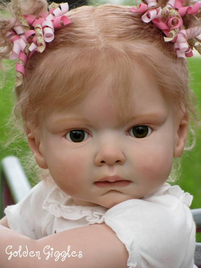 Leontyne Toddler Reborn Vinyl Doll Kit by Danielle Zweers NEW LOWER PRICE!