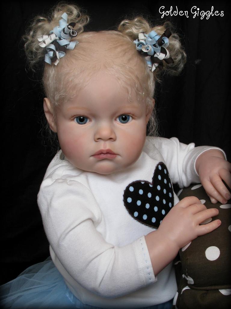 Tatiana Doll Kit by Reva Schick