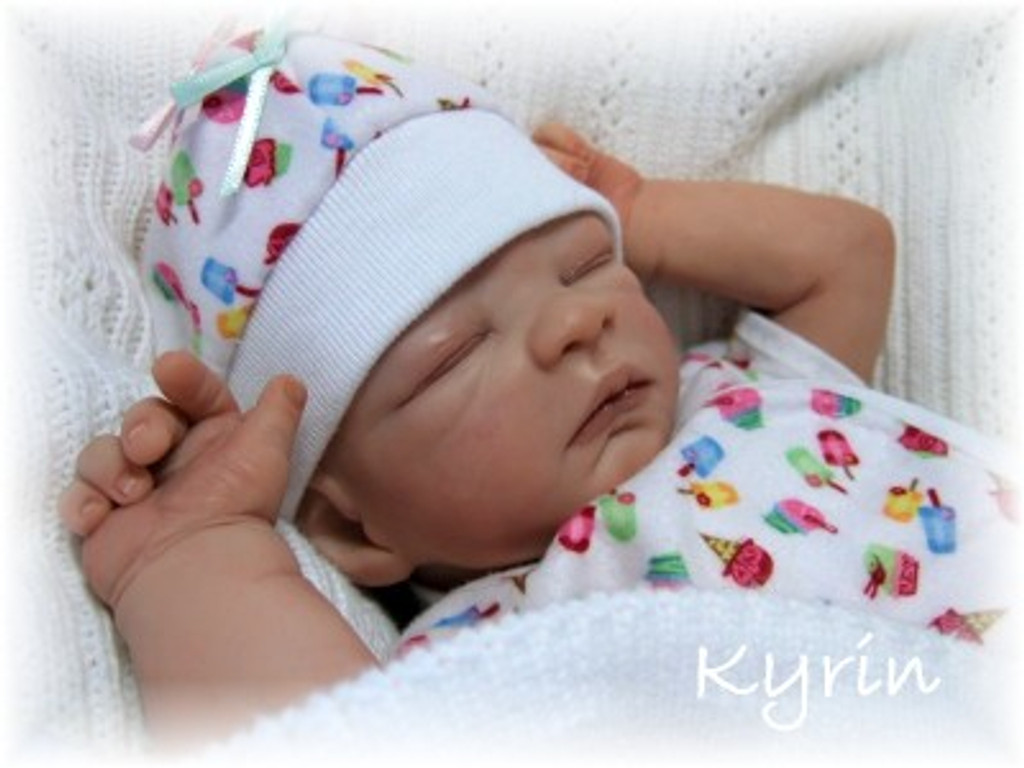 Kyrin Mini Vinyl Reborn Doll Kit by Stephanie Sullivan