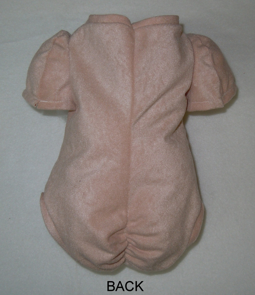 """Doe Suede Body for 17-18"""" Dolls 7/8 Jointed Arms Full Unjointed Legs #505S"""