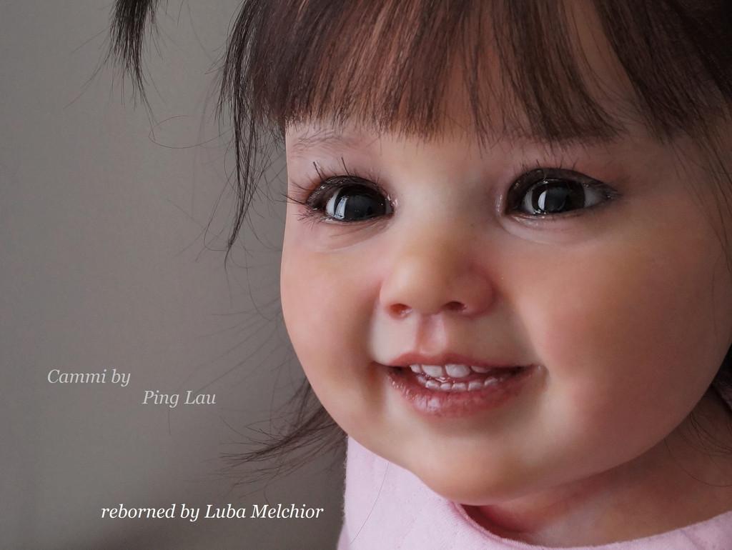 Cammi Reborn Vinyl Doll Kit by Ping Lau