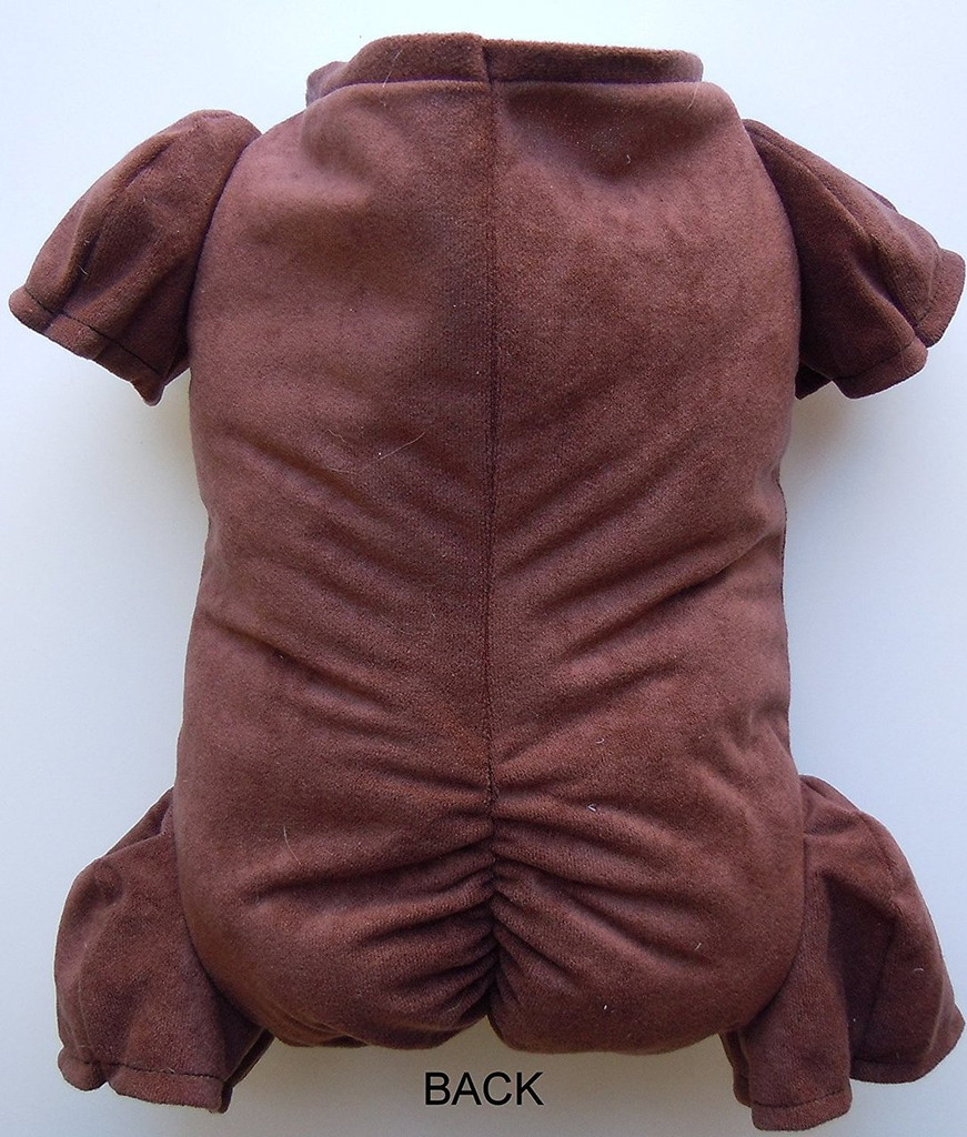 """Doe Suede Ethnic Body for 19-21"""" Dolls 3/4 Jointed Arms 3/4 Jointed Legs #1273E"""