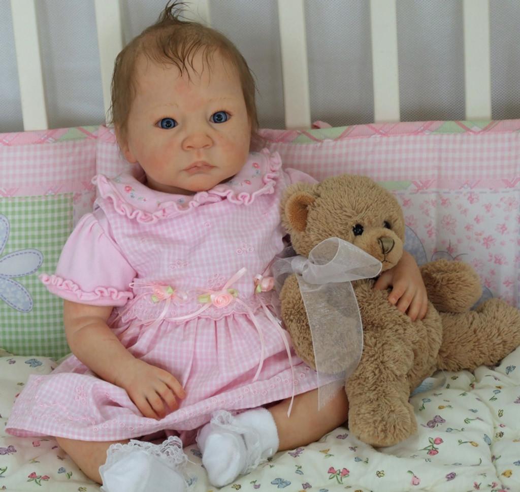 Jeremiah Reborn Vinyl Doll Kit by Adrie Stoete