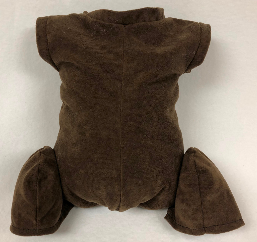 """Doe Suede Ethnic Body for 24-26"""" Dolls Full Unjointed Arms 3/4 Jointed Legs #1496E"""