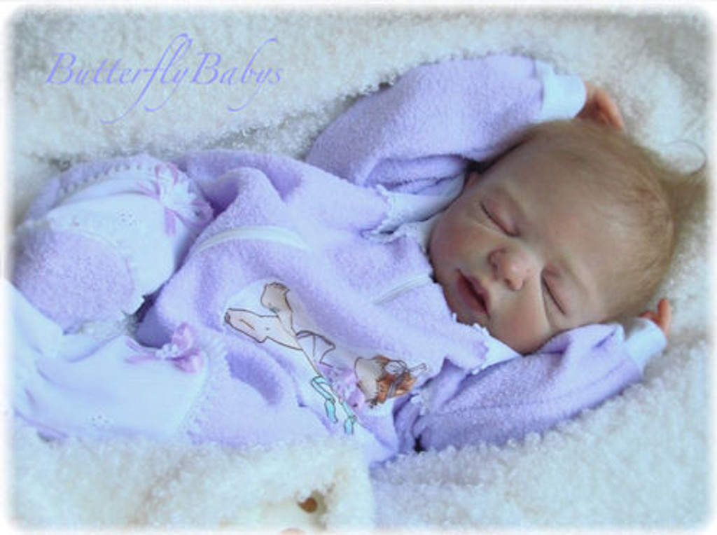 Danielle Reborn Vinyl Doll Kit by Sheila Michael