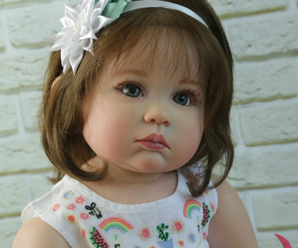 Julieta Reborn Vinyl Toddler Doll Kit by Ping Lau