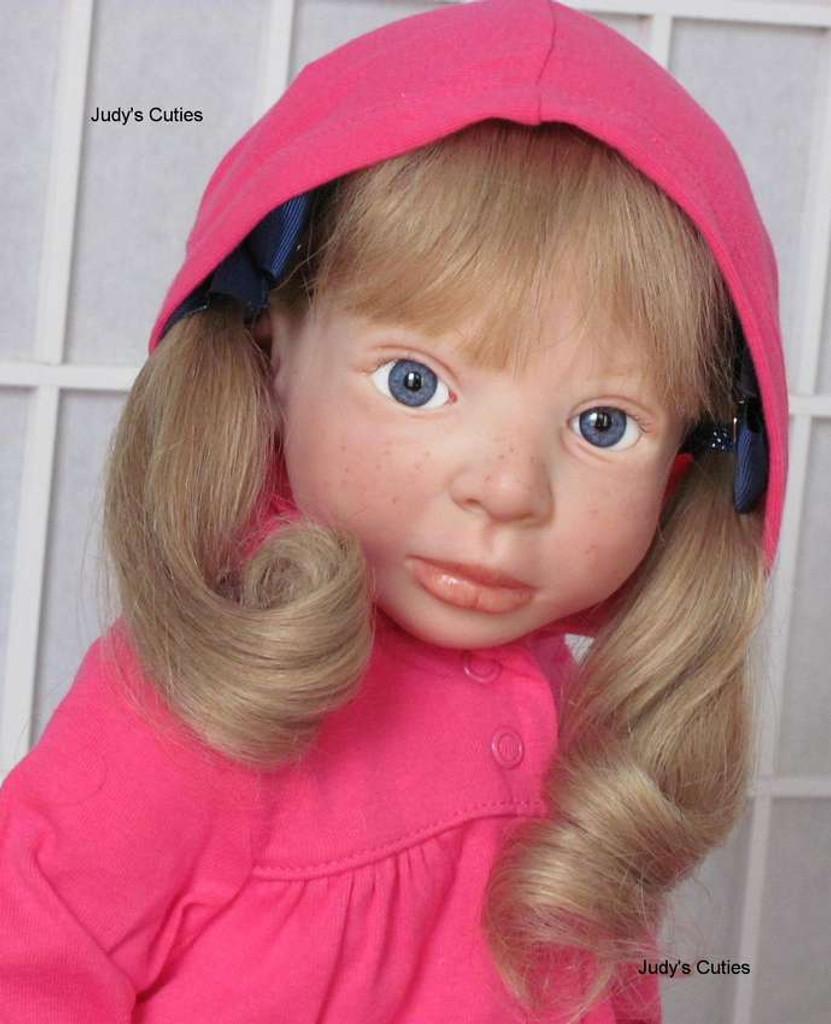 Farah Reborn Vinyl Doll Kit by Danielle Zweers