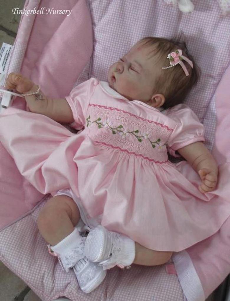 Jazmine Belle Reborn Vinyl Doll Kit by Sandy Faber