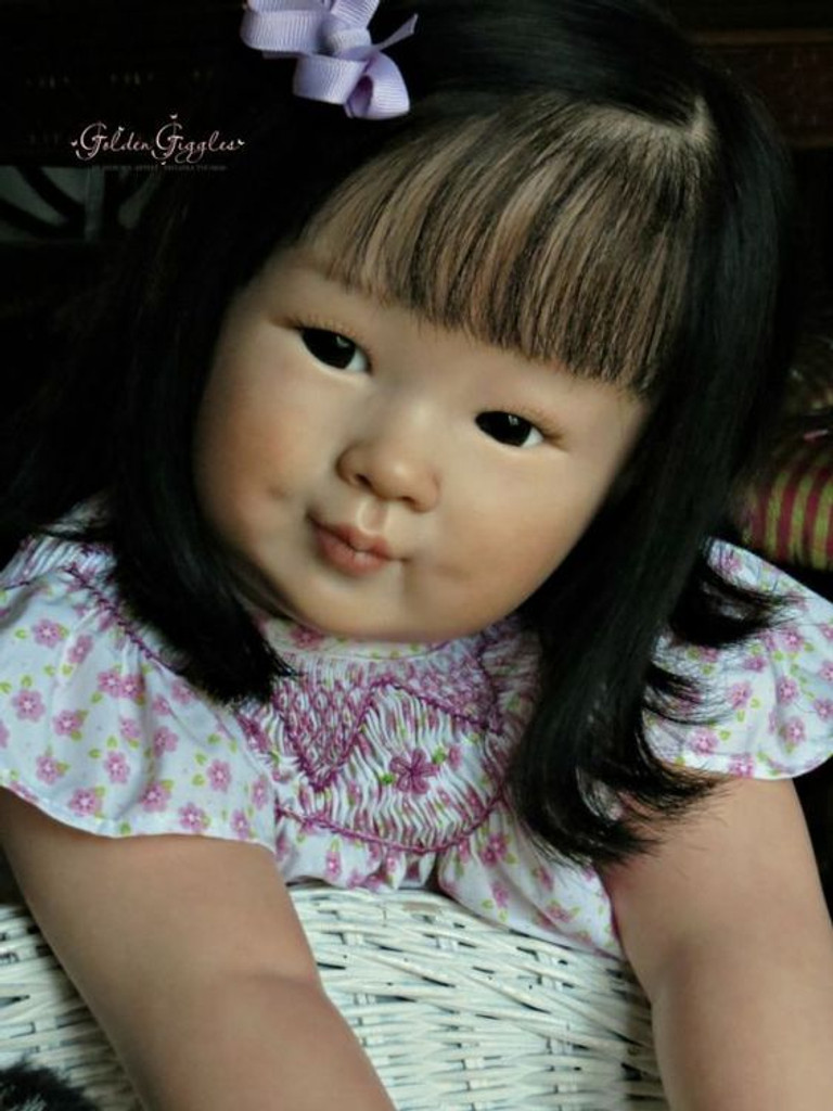 Chun Mei Reborn Vinyl Doll Kit by Ping Lau NEW LOWER PRICE!