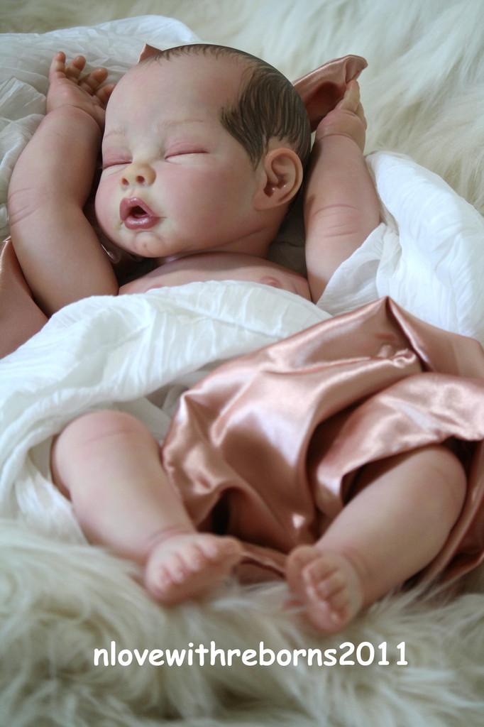 Jasmine Reborn Vinyl Doll Kit by Tomas Dyprat