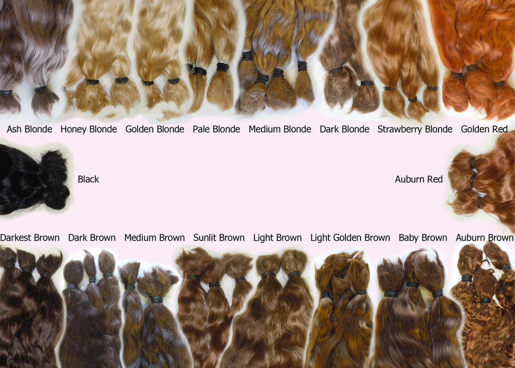 Slightly Wavy High Quality Premium Yearling Mohair