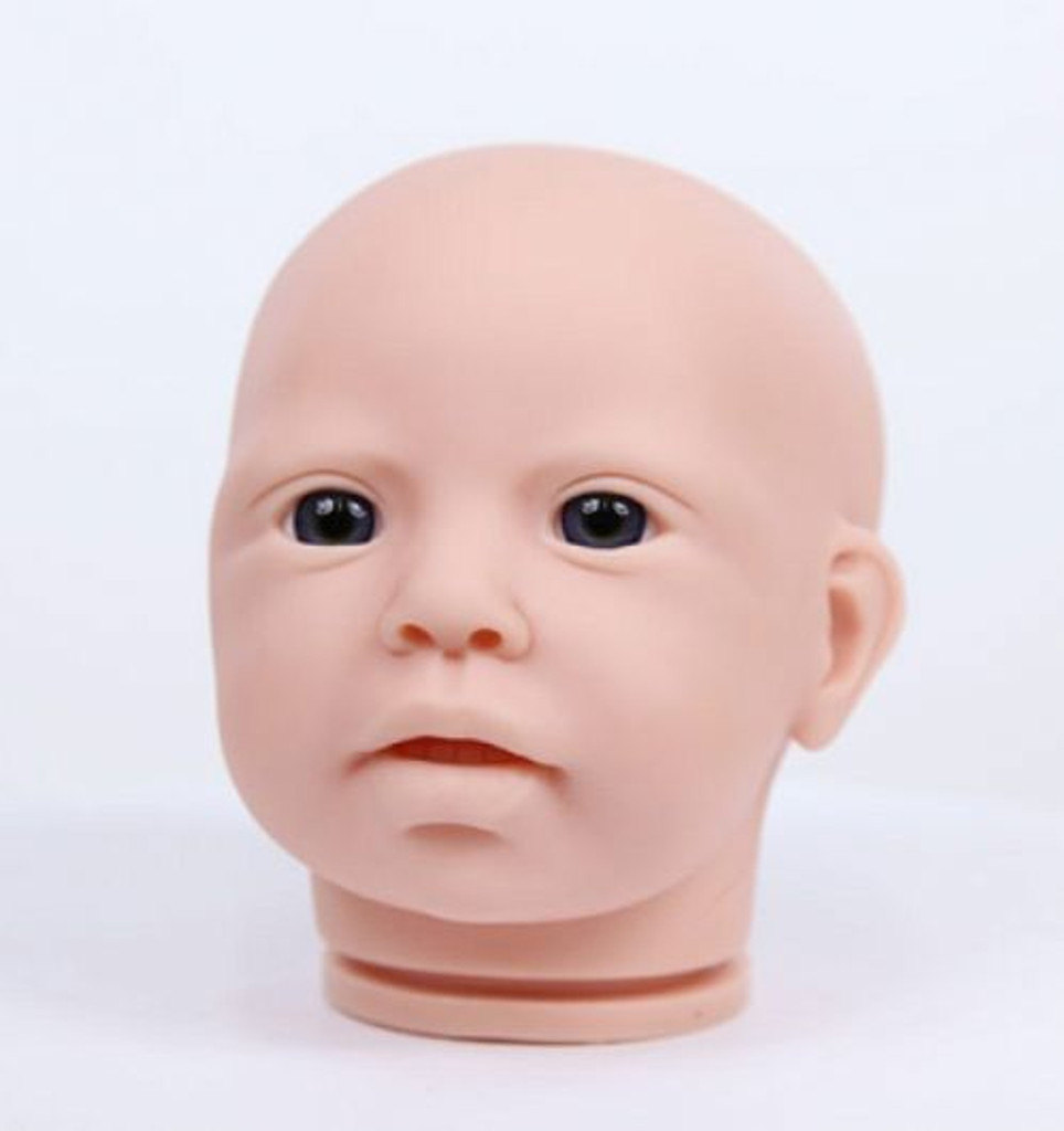 Eva Reborn Vinyl Doll Kit by Jannie De Lange