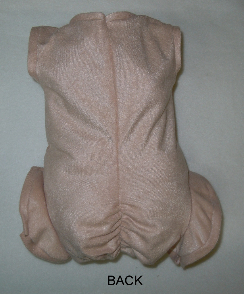 "Doe Suede Body for 17-18"" Dolls Full Unjointed Arms Full Jointed Legs #1400"