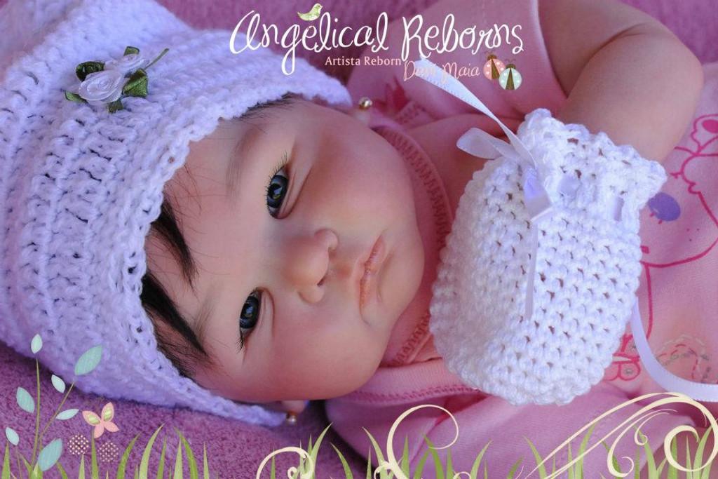 Tessa Reborn Vinyl Doll Kit by Didy Jacobsen
