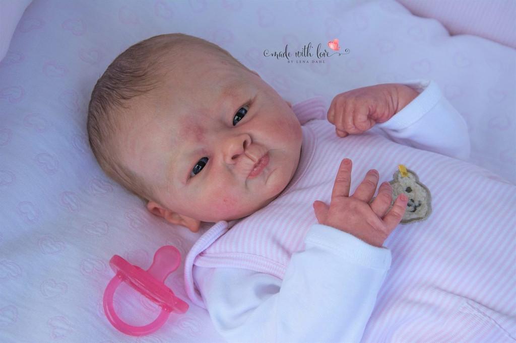 Emma-Louise Reborn Vinyl Doll Kit by Elisa Marx