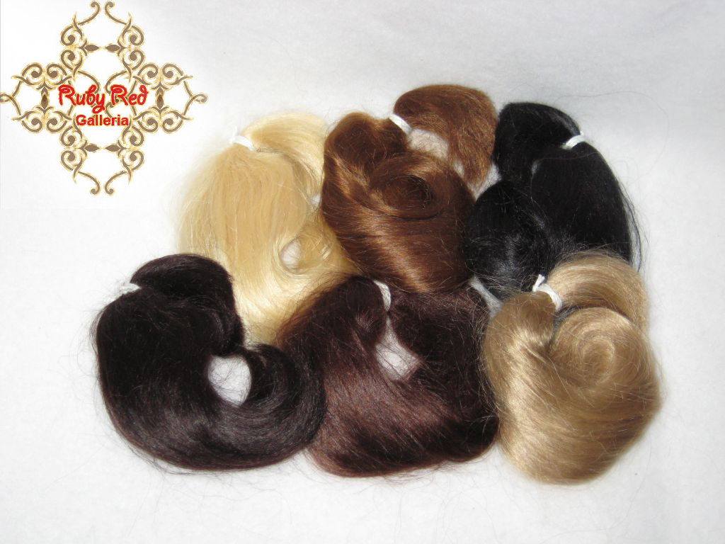 Curly Mohair .25 Ounce Package