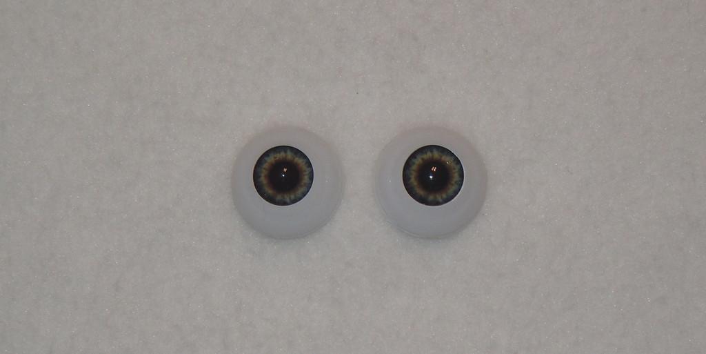 Acrylic Real Eyes in Dark Blue Dusk