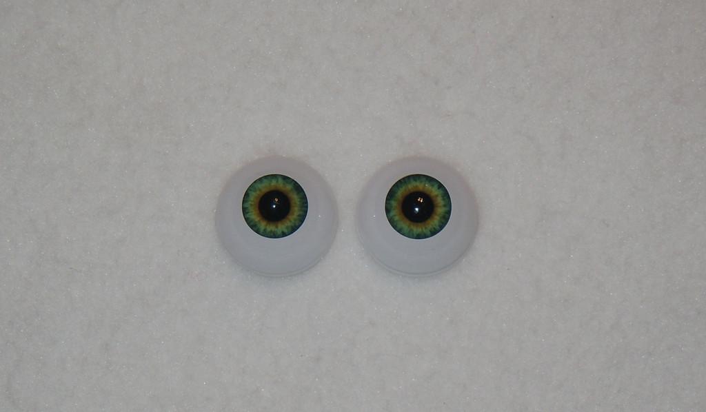 Acrylic Real Eyes in Sunrise Blue
