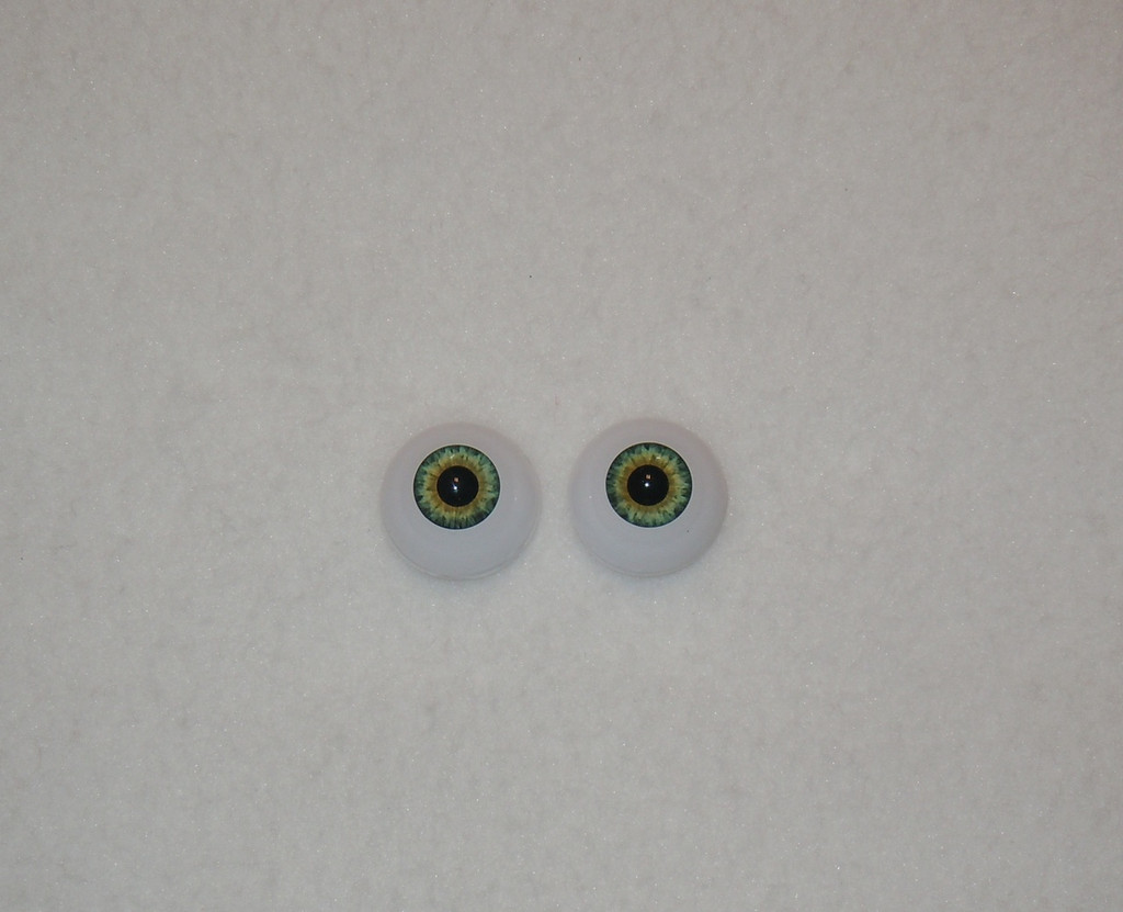 Acrylic Real Eyes in Aqua Hazel