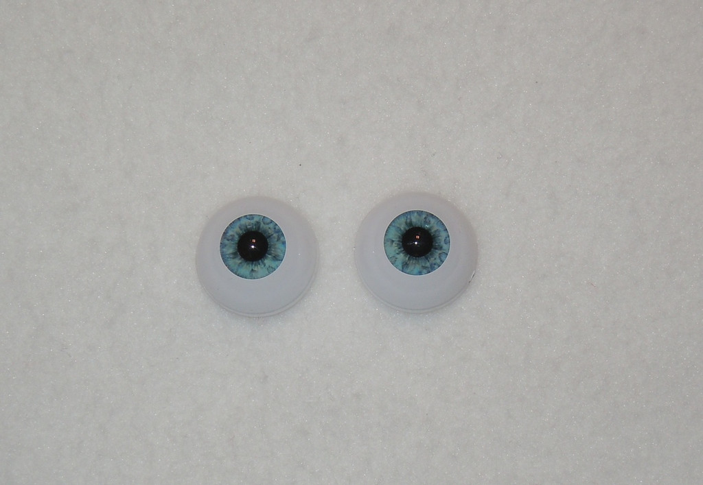 Acrylic Real Eyes in Light Blue