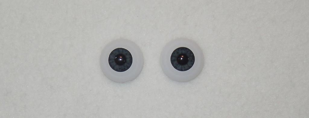 Acrylic Real Eyes in Newborn Midnight