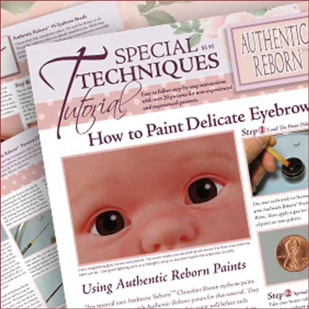 Special Techniques Tutorial: How to Paint Delicate Eyebrows