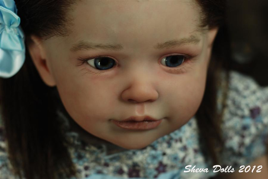 Sally Reborn Vinyl Doll Kit by Regina Swialkowski