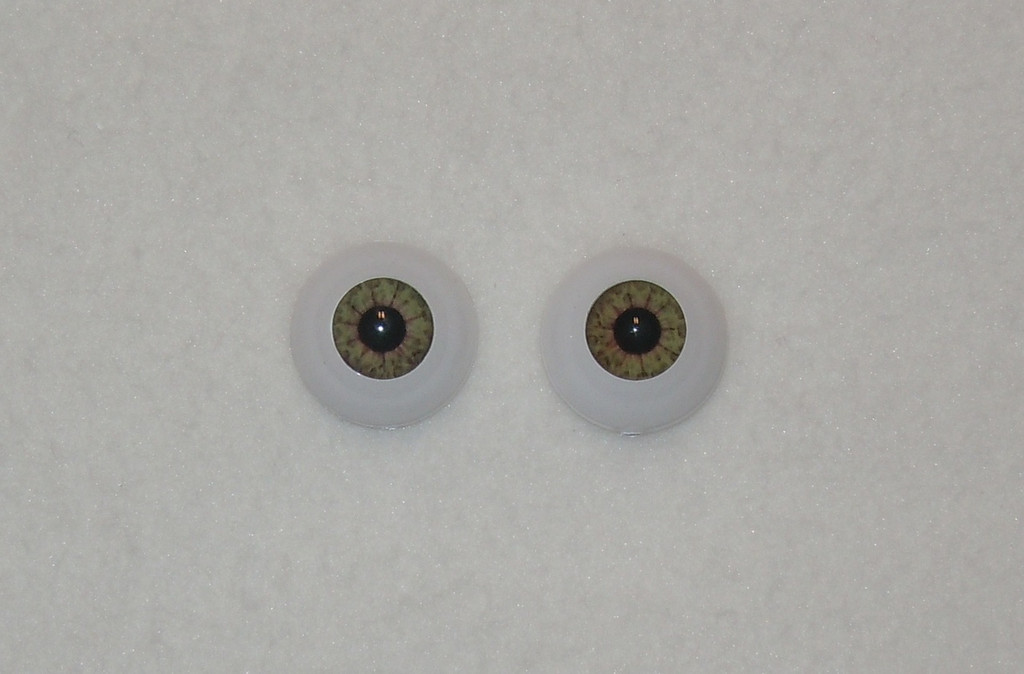 Acrylic Real Eyes in Golden Hazel