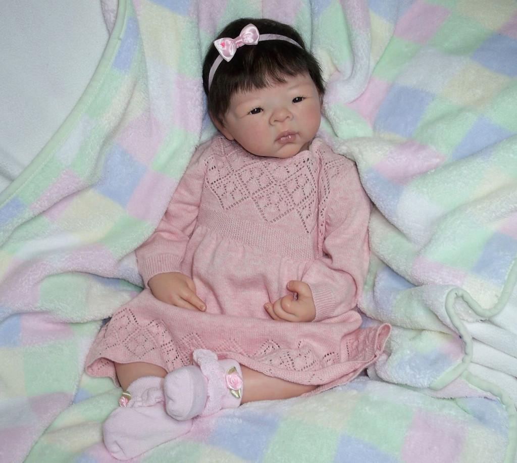 Jiao Reborn Vinyl Doll Kit by Adrie Stoete