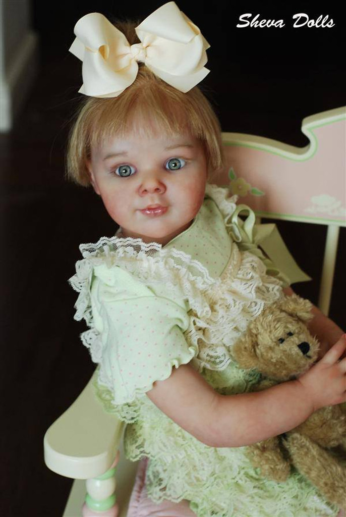 April Reborn Vinyl Doll Kit by Adrie Stoete