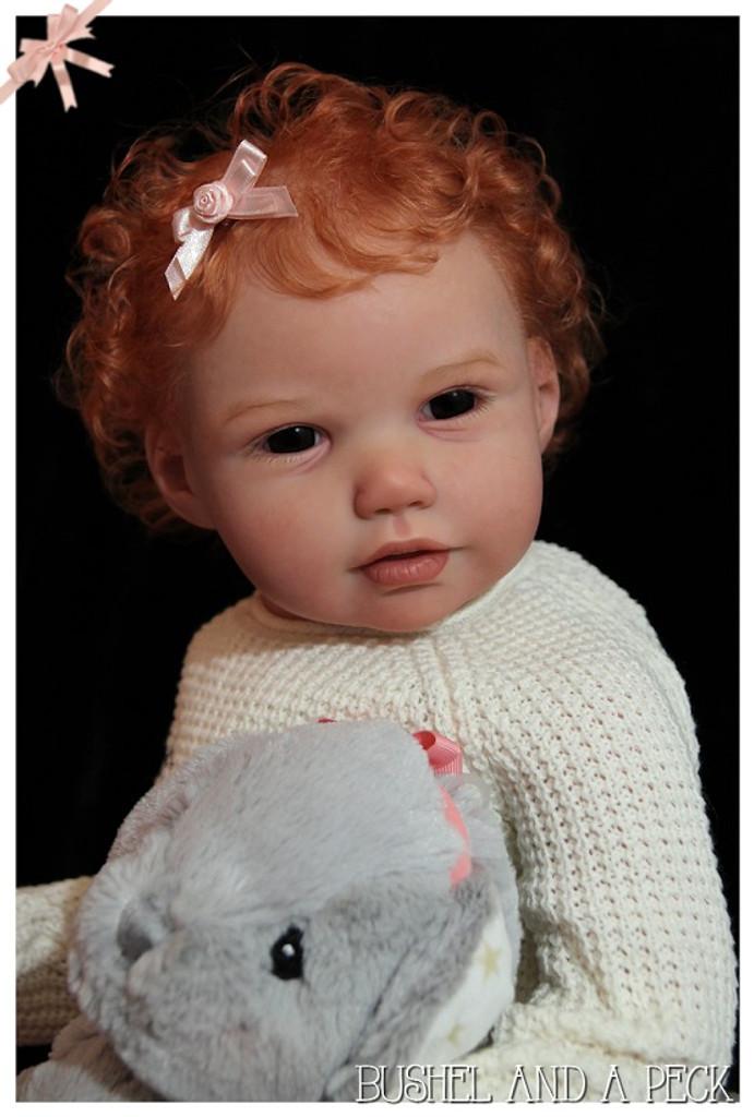 Madeline Reborn Vinyl Doll Kit by Jannie De Lange