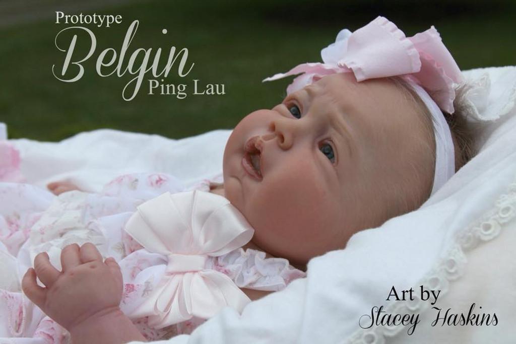 Belgin Reborn Vinyl Dolll Kit by Ping Lau