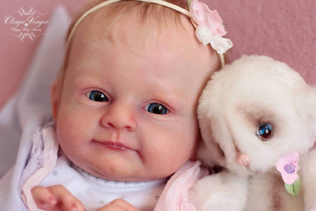 Mary Reborn Reborn Vinyl Doll Kit by Olga Auer