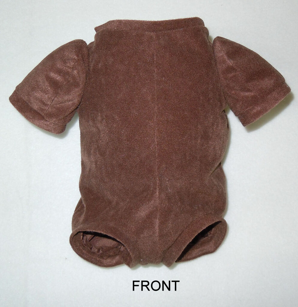 "Doe Suede Cloth Body for 22/"" 24/"" Reborn Dolls 3//4 Limbs Reborn Doll Kits"