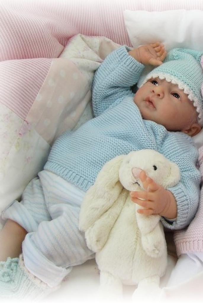 Daniel Vinyl Reborn Doll Kit by Linde Scherer