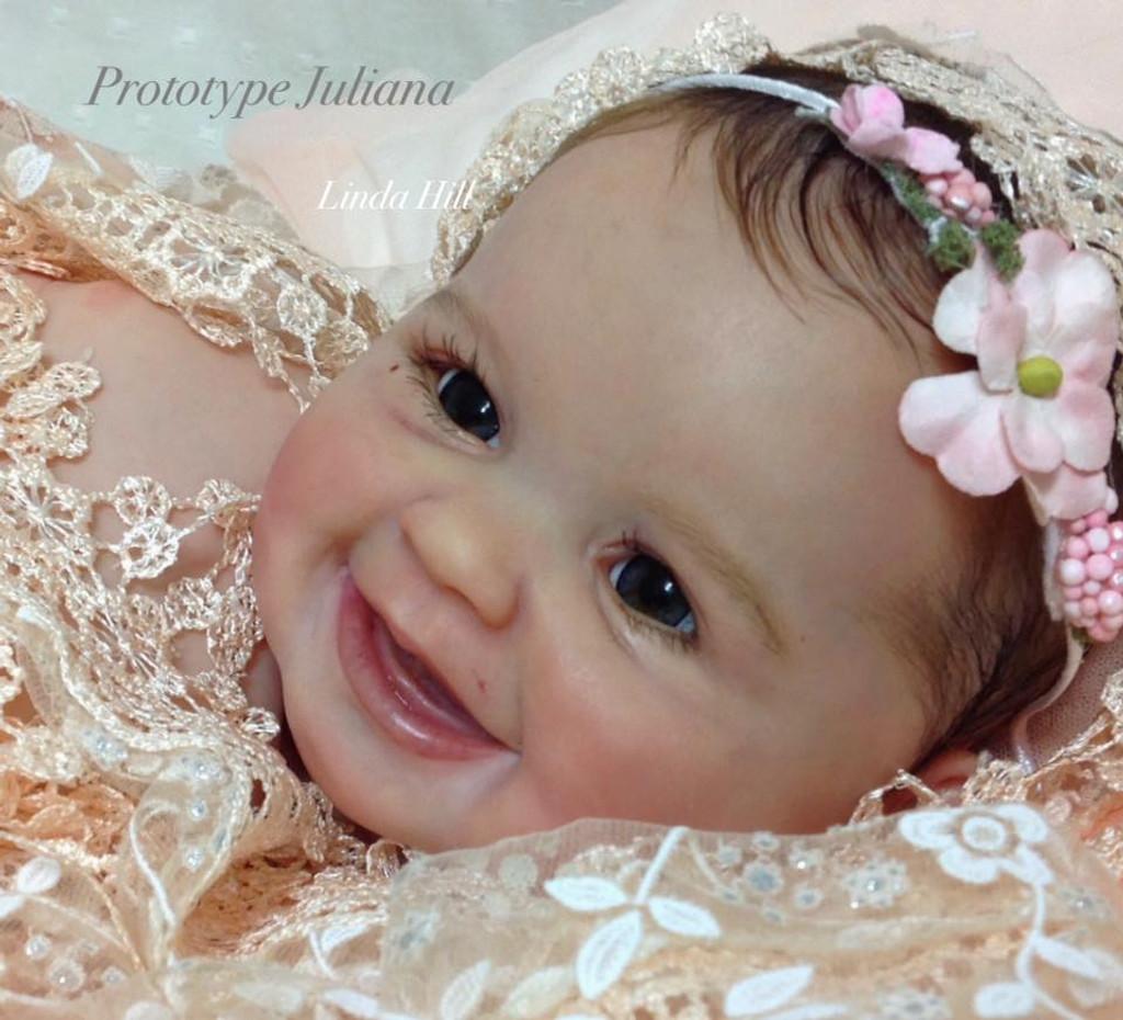 Juliana Reborn Vinyl Doll Kit by Ping Lau