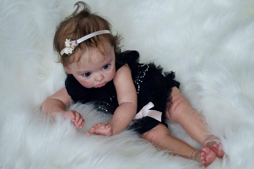 Princess Adelaide Reborn Vinyl Doll Kit by Andrea Arcello
