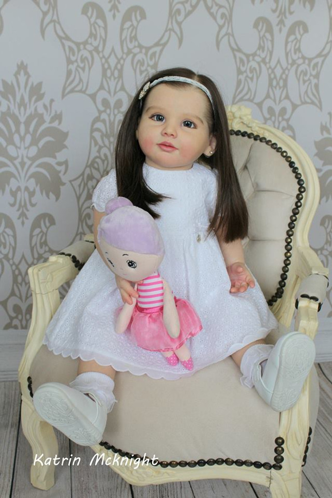 Vivien Leigh Reborn Vinyl Doll Kit by Olga Tschenskaja