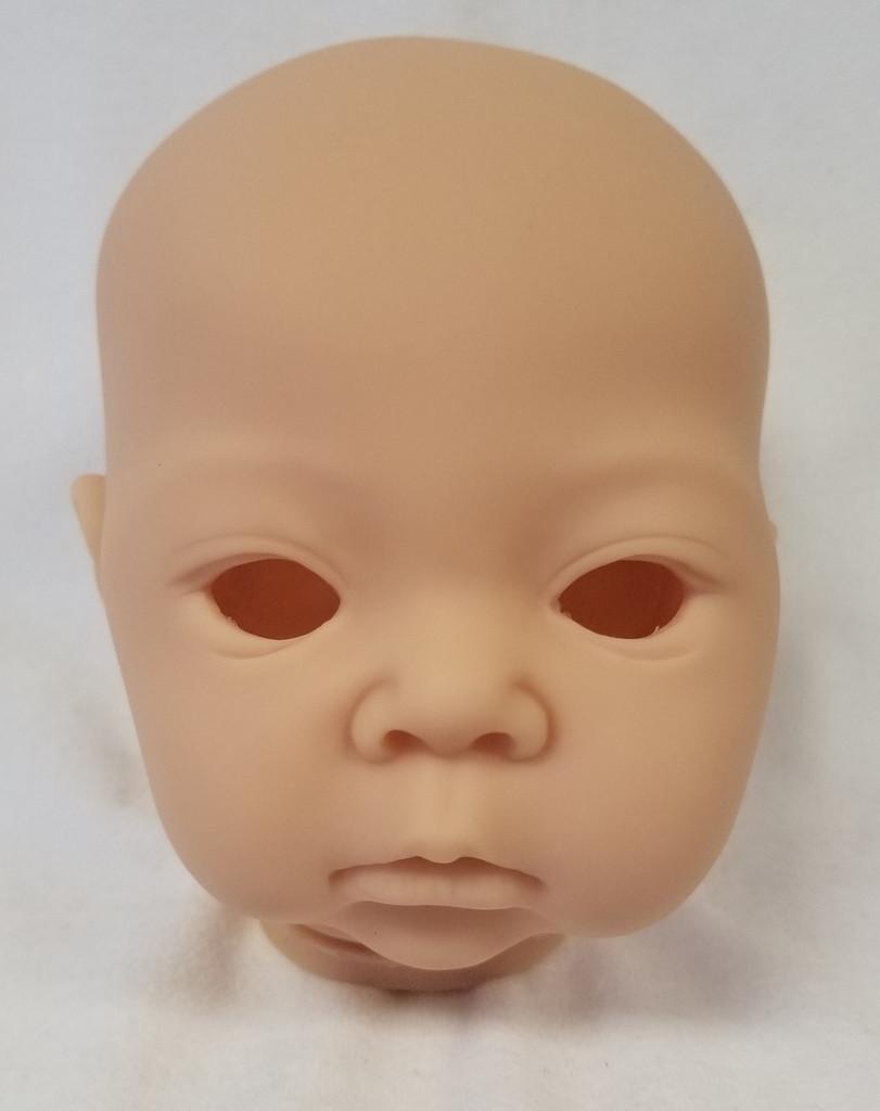 Akina Reborn Vinyl Doll Head by Adrie Stoete  Mix & Match - HEAD ONLY
